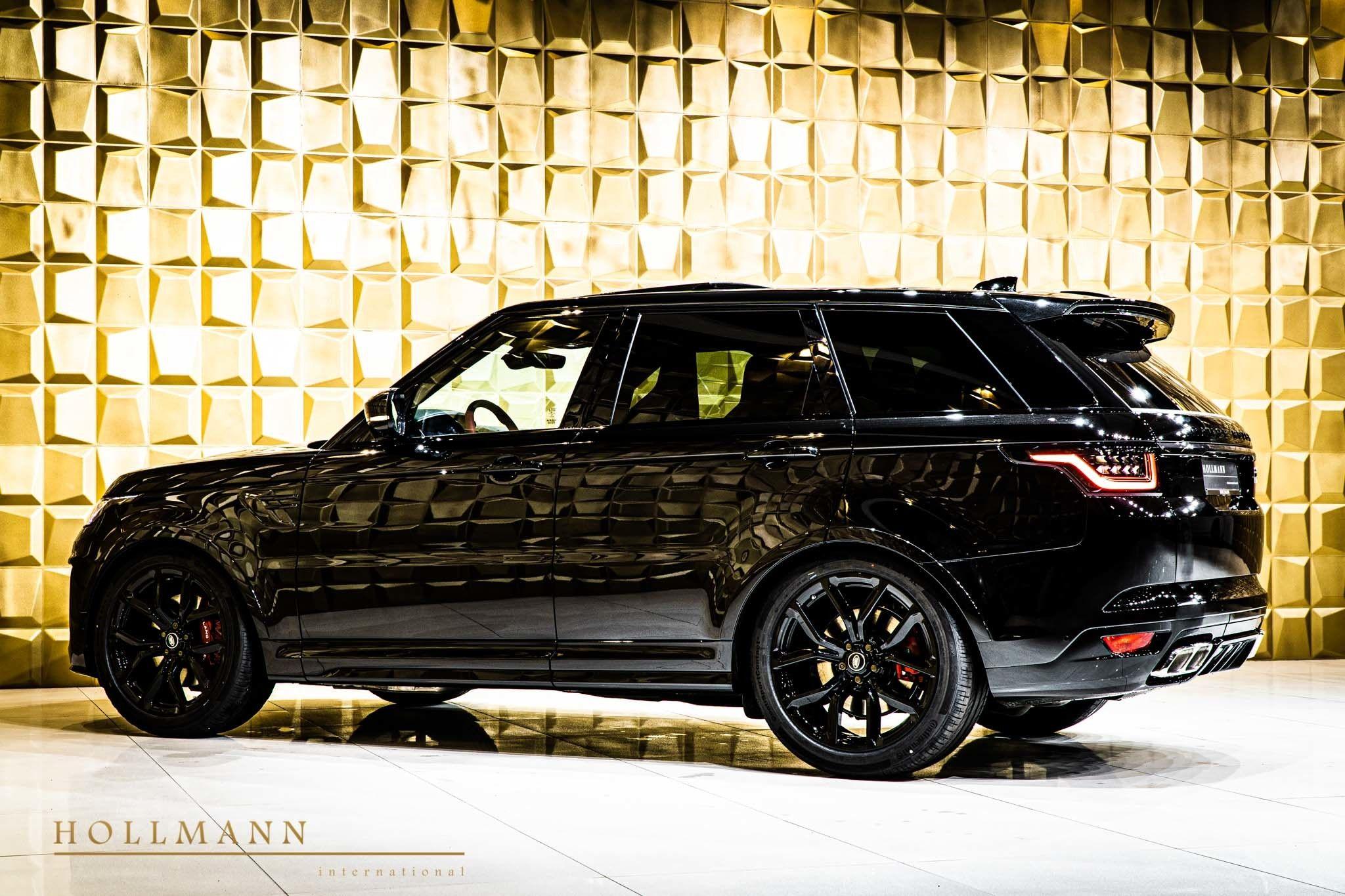 Land Rover Range Rover Sport 5 0 V8 Svr Hollmann International Germany For Sale On Luxurypulse Range Rover Range Rover Sport All Black Range Rover