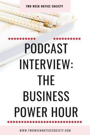 The Business Power Hour Podcast Interview Want to quit your 9-5 job? Enjoy my podcast interview on The Business Power Hour and  I'll give you tips on how to leave your 9 to 5 job! Repin and grab my free course on how to leave your 9 to 5! quit your job, how to quit your 9 to 5, how to start my own business, entrepreneur tips, small business start up, how to start my own business, entrepreneur tips, small business start up,