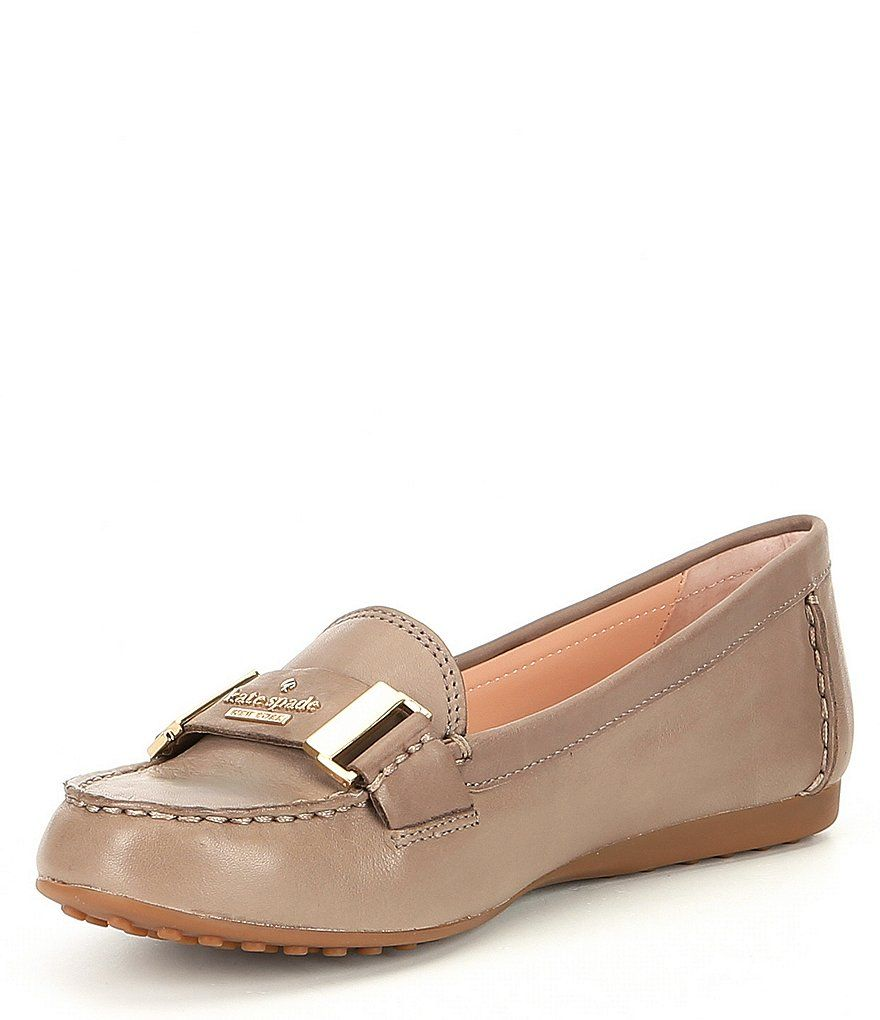98a7e5547b5d kate spade new york Colette Leather Logo Loafers in 2019