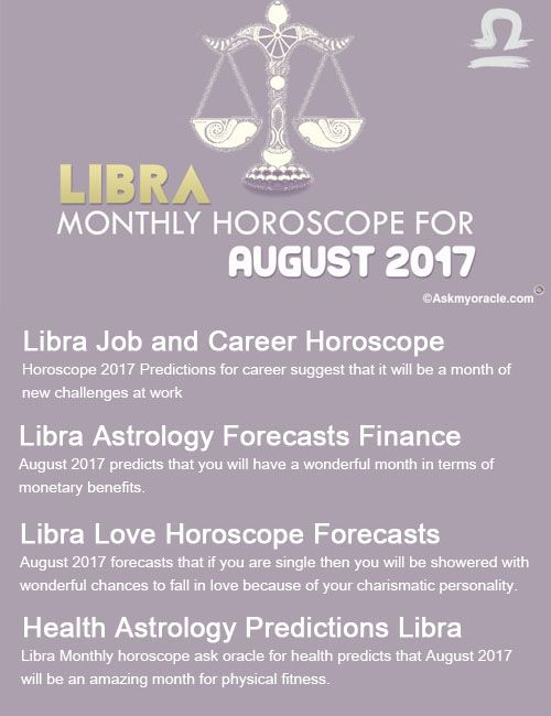 Libra Monthly Horoscope August 2017 | Monthly Horoscope | Libra
