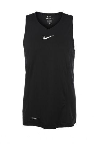 Майка спортивная Nike, цвет: черный. Артикул: NI464EMDRO57