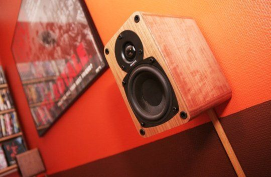 look concealing speaker wires with wood do it yourself hiding speaker wires speaker wire. Black Bedroom Furniture Sets. Home Design Ideas
