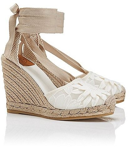 4adaf9a201d love these? romantic country.. Tory Burch Emil Wedge Espadrille ...