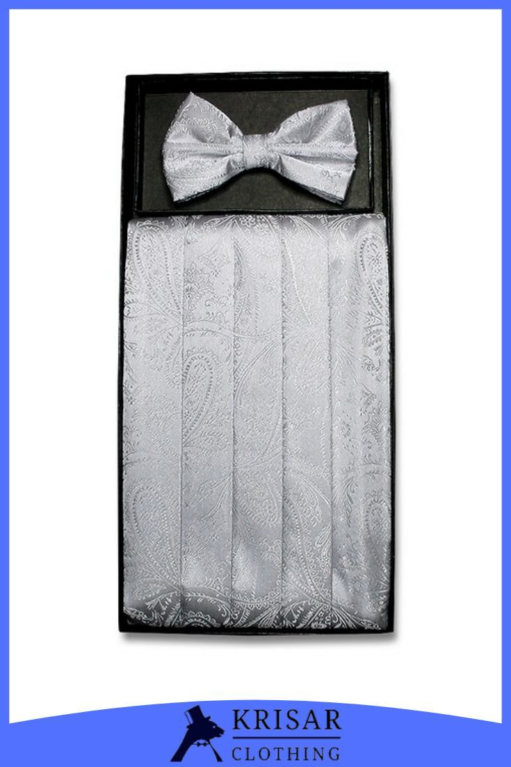 Mens Set Red Cummerbund Bow Tie Tuxedo Formal Wedding Men/'s Suit Cumberbun