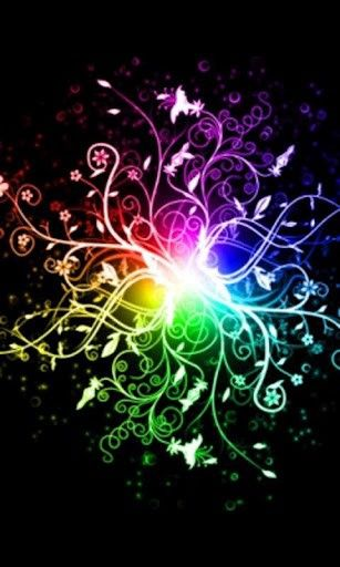 Download Live Rainbow Wallpaper Gallery Fractal Art Abstract