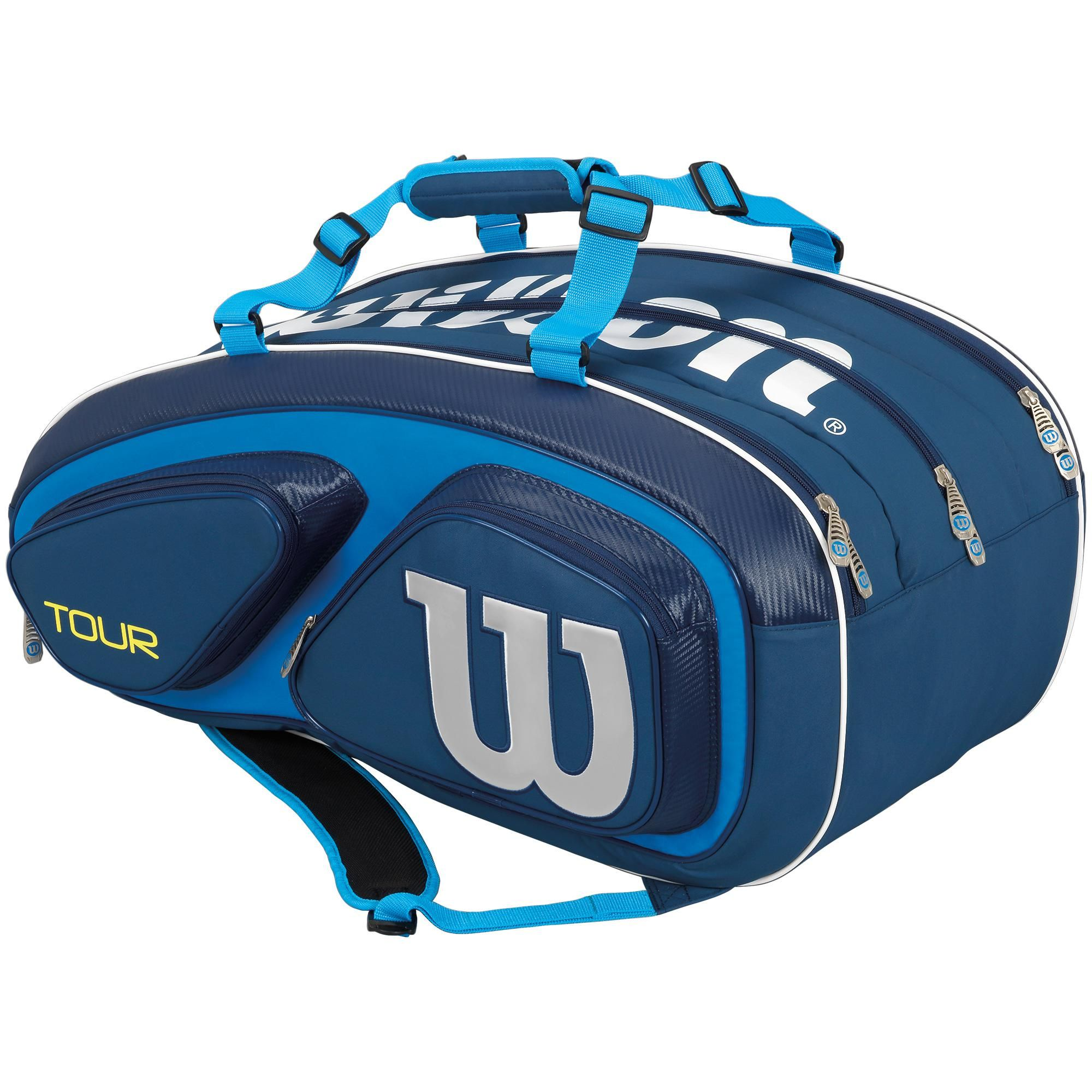 Wilson Tour V 15 Pack Bag Blue Tennis