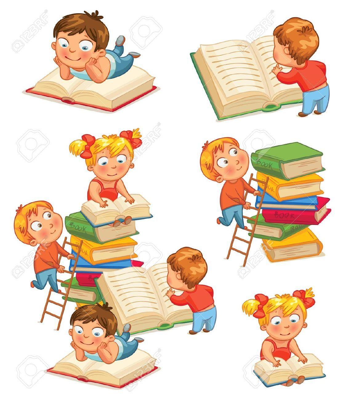 Top Cartoon Children Reading images | reading | Pinterest DK76