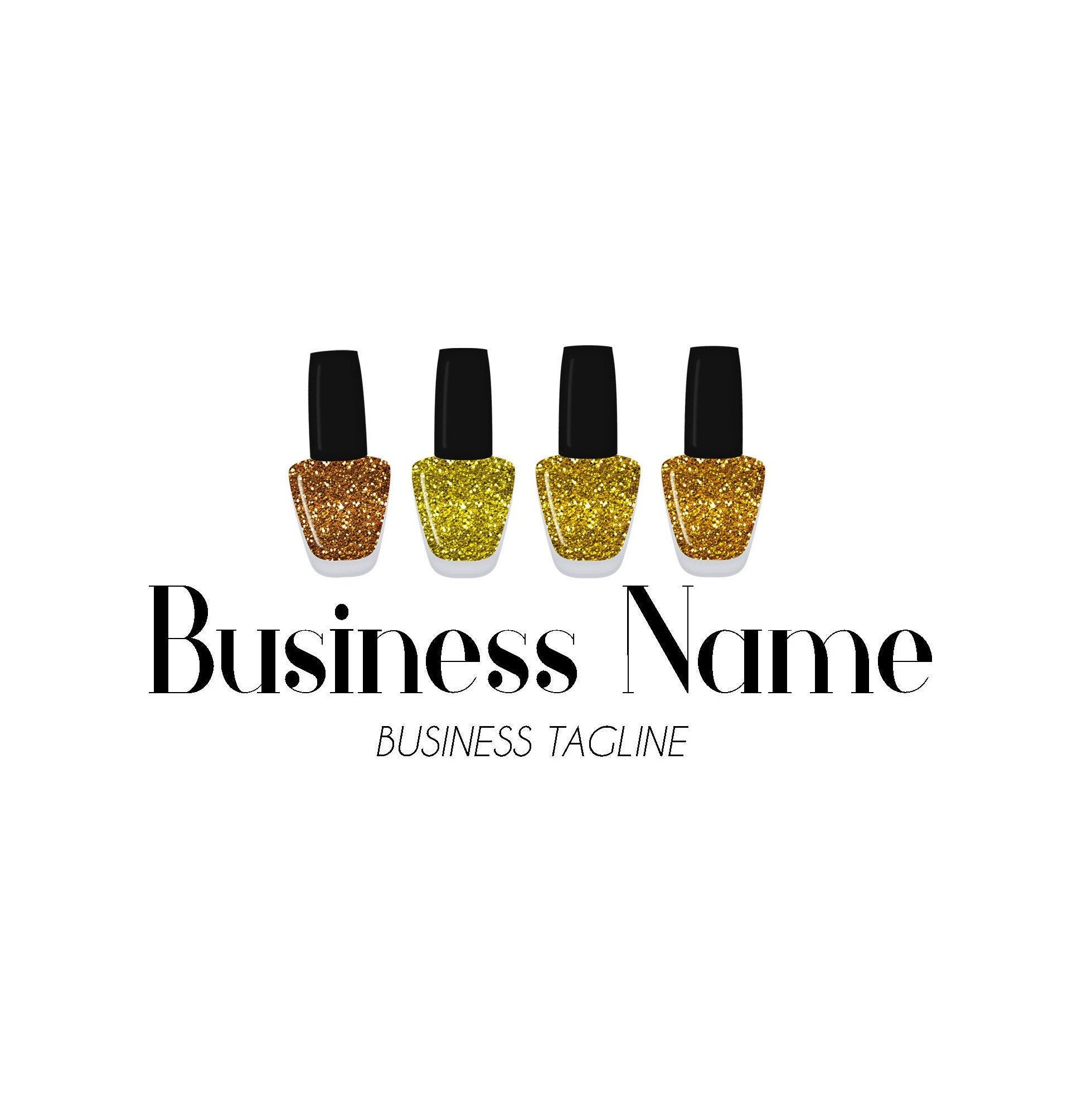 Nail Salon Logo, Nail Logo Design, Nail Artist Logo, Nail