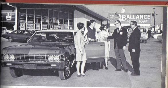 Ballance Chevrolet Was Located On The Corner Of Walters Drive And