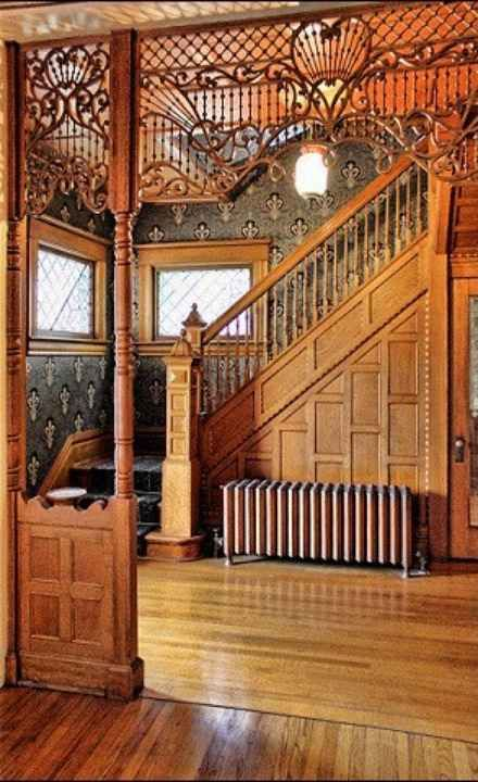 Victorian Era Foyer : N main st curlicues pinterest victorian