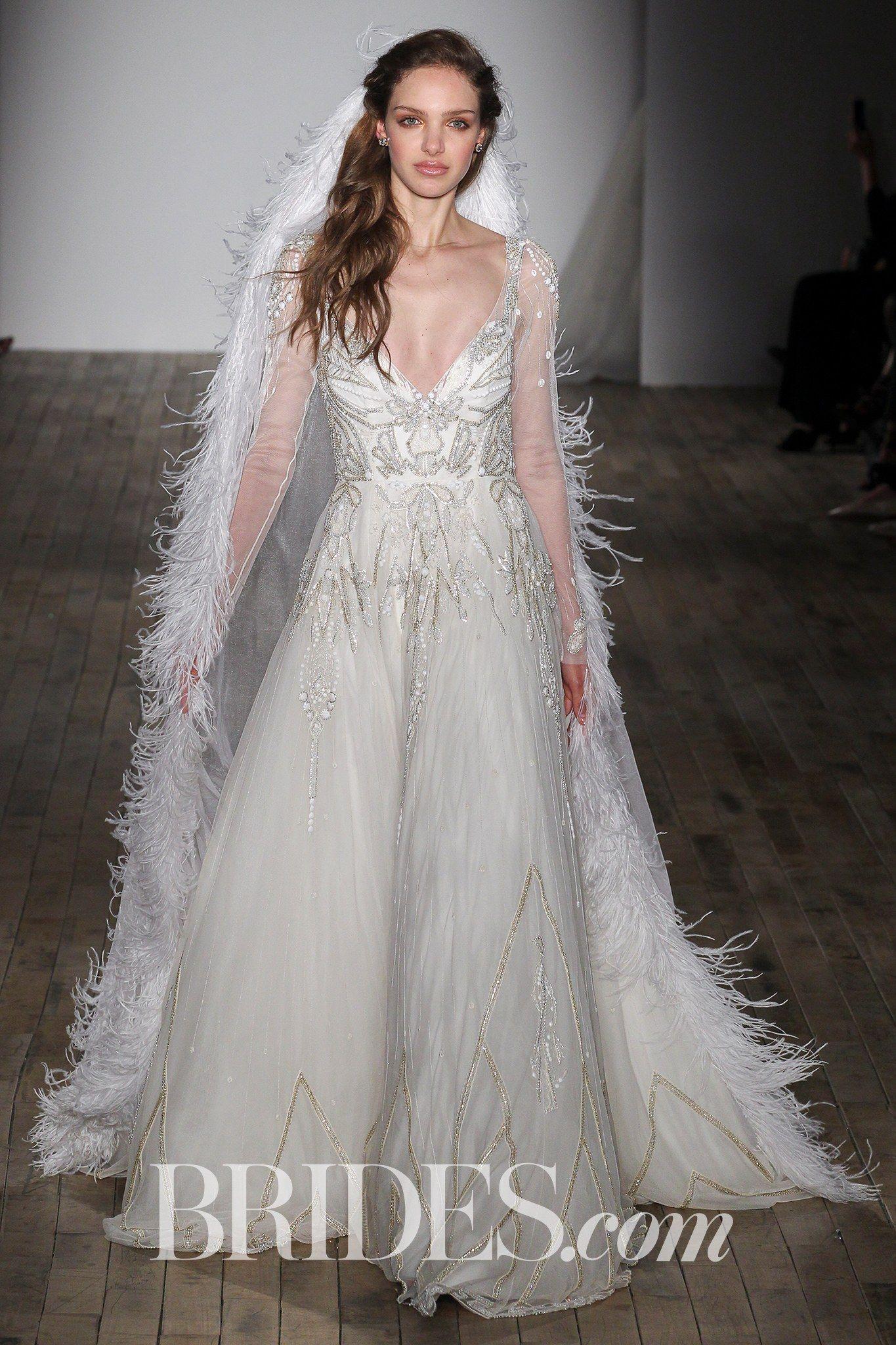 Elijah hayley paige bridal wedding dresses spring 2018 for Springtime dresses for weddings