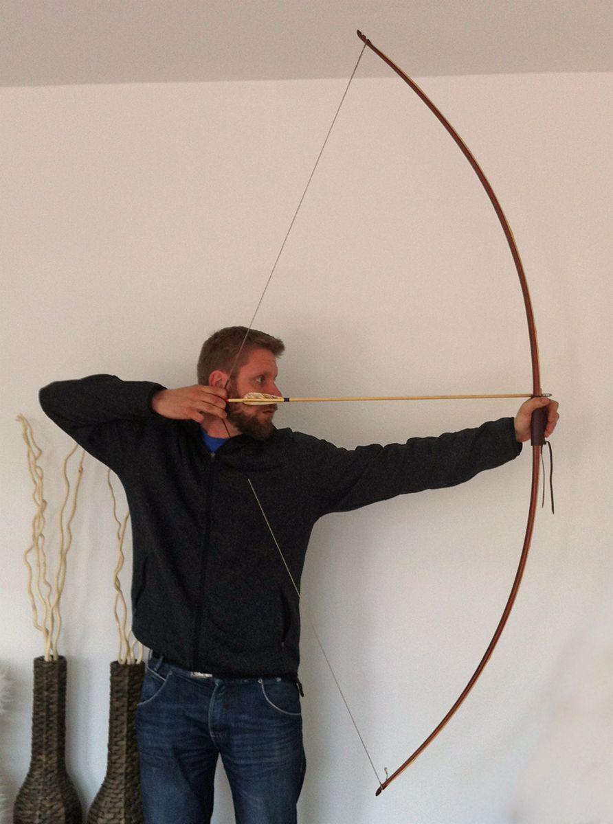 ipe padauk bamboo longbow by Leonwood | Longbow | Longbow, Bows, Bamboo
