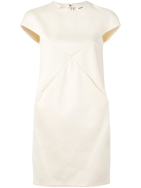 Courrges Courreges Modesens Courreges Robe Cocktail Robe Structuree