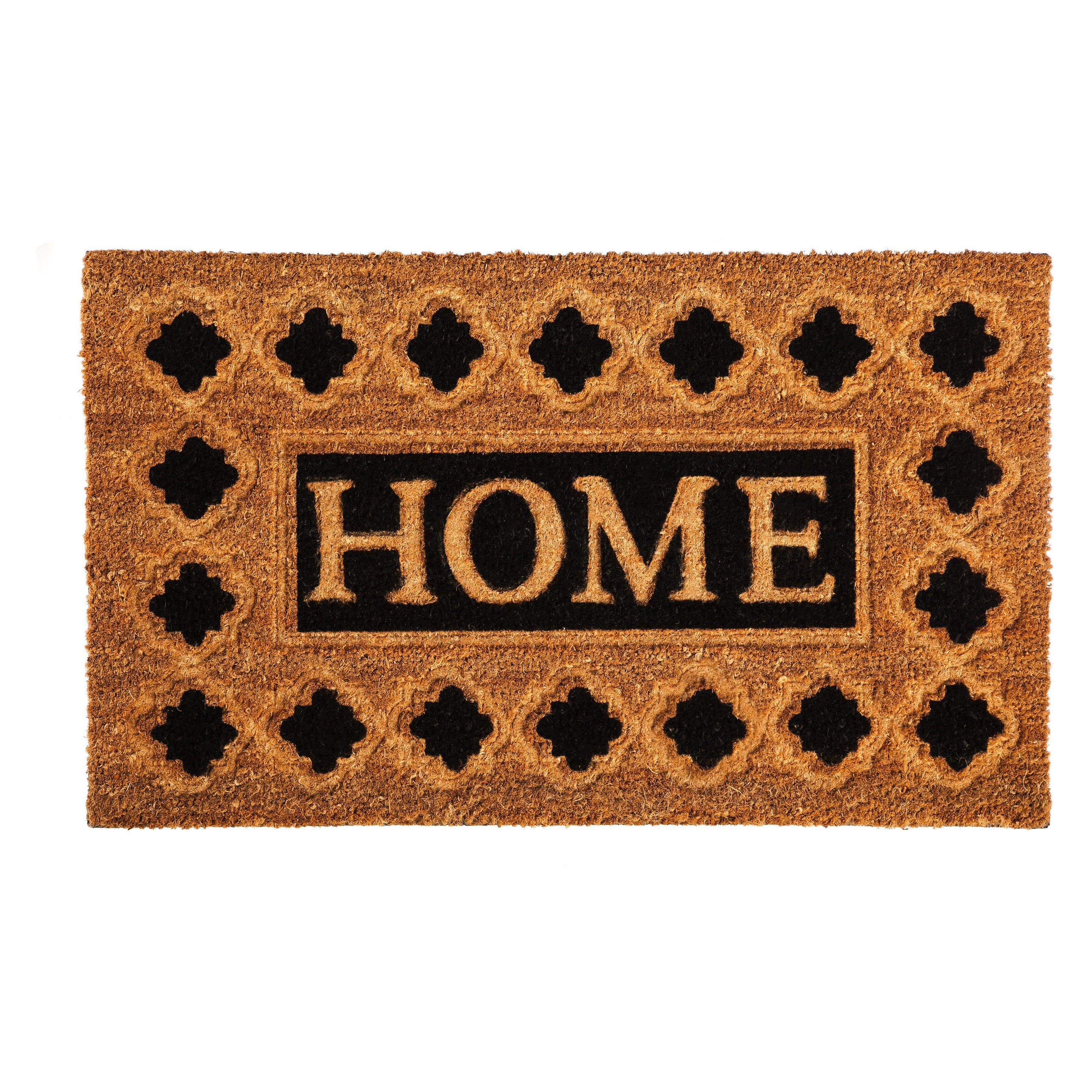 Charmant Evergreen Flag Home Coir Door Mat   2RM338