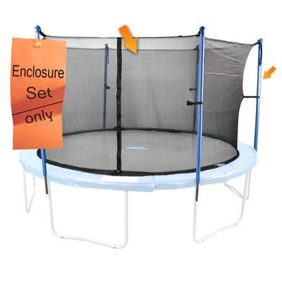 Upper Bounce 16 Enclosure For Trampoline Trampoline Enclosure Trampoline Safety Trampoline