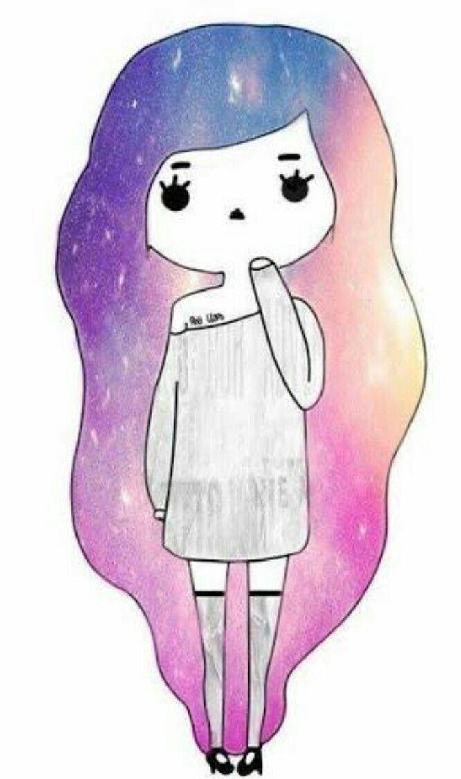 how to draw a kawaii girl