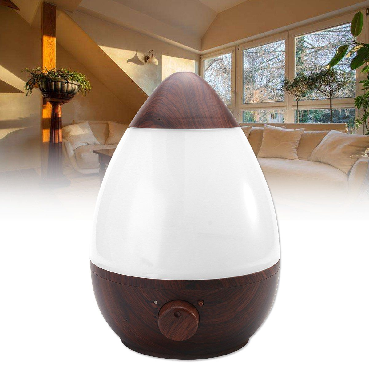 2.3L Air Humidifier Ultrasonic Aromatherapy Diffuser Aroma