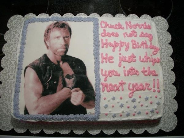 Strange I Did This Cake For My Brothers Birthday In April 2012 Chuck Funny Birthday Cards Online Alyptdamsfinfo