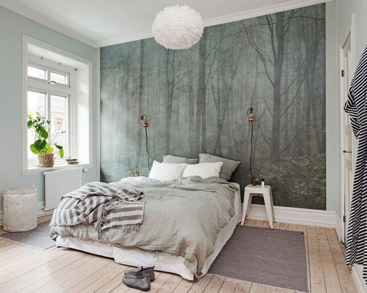 nordisch eingerichtetes Schlafzimmer Wohnideen fürs Schlafzimmer - schlafzimmer wohnidee