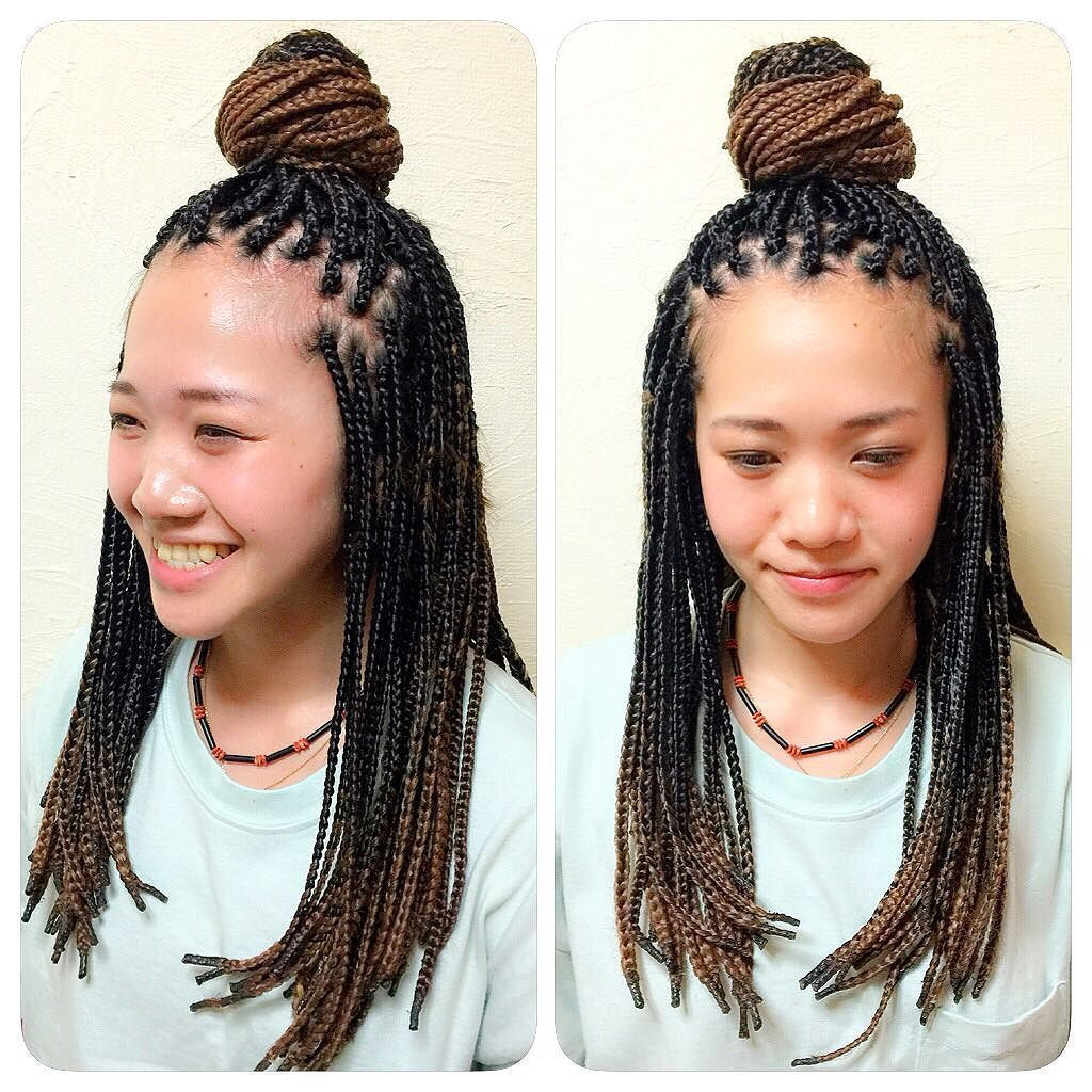 Picture Boxed Braids Hairstyles Model Ideas Of 50 Exquisite Box To