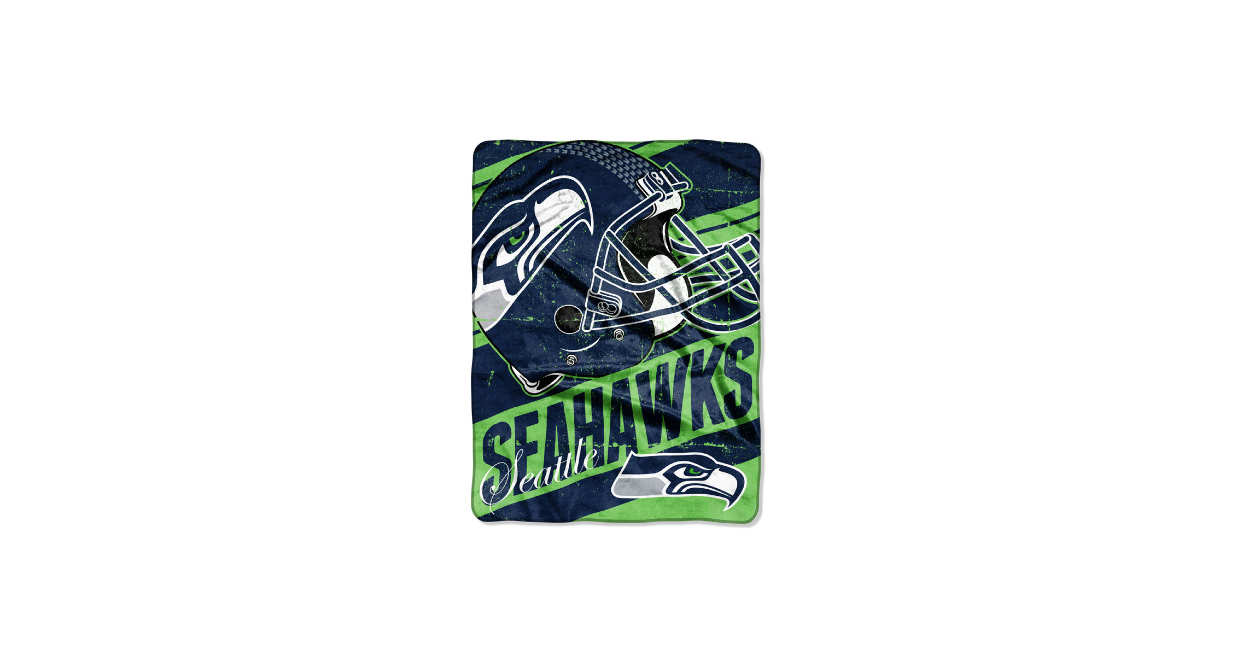 Northwest Company Seattle Seahawks Micro Raschel Deep Slant Blanket