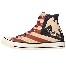 Details about New Converse Chuck Taylor All Star Washed Canvas USA Studded Country Red White