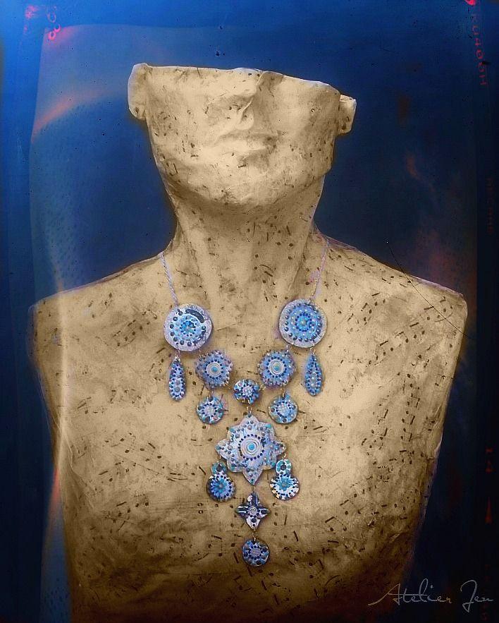 """""""Kalista"""" necklace by Atelier Jenwww.atelierjen.com"""