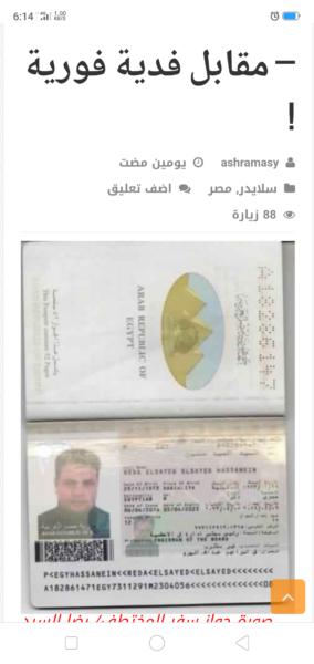 عاجل إستجابة لل الدبلوماسي الخارجية تبذل أقصى مافي وسعها لإستعاة رجل الأعمال المصري المختطف في نيجيريا الدبلوماسي Event Ticket Event
