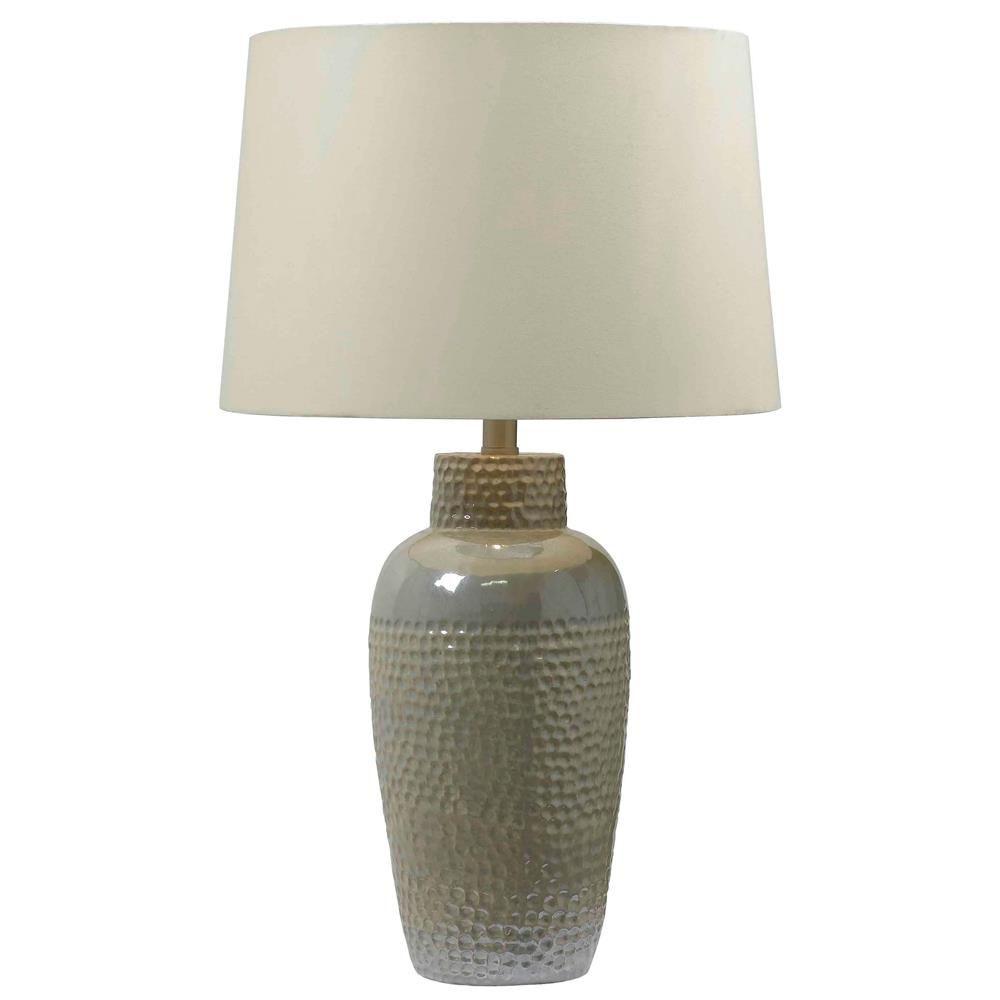 32107IRD   Kenroy Home 32107IRD Facade Table Lamp In Iridescent Ceramic  Finish   GoingLighting