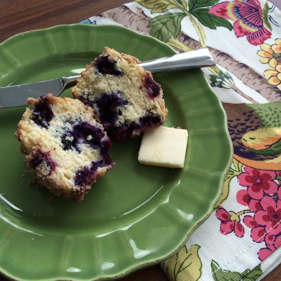 Nantucket Blueberry Muffins The Preppy Hostess Blue