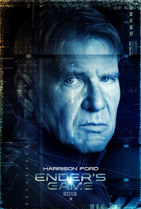 El Juego De Ender Harrison Ford El Juego De Ender Ciencia Ficcion