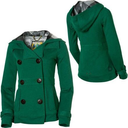 Images of Green Pea Coat - Reikian
