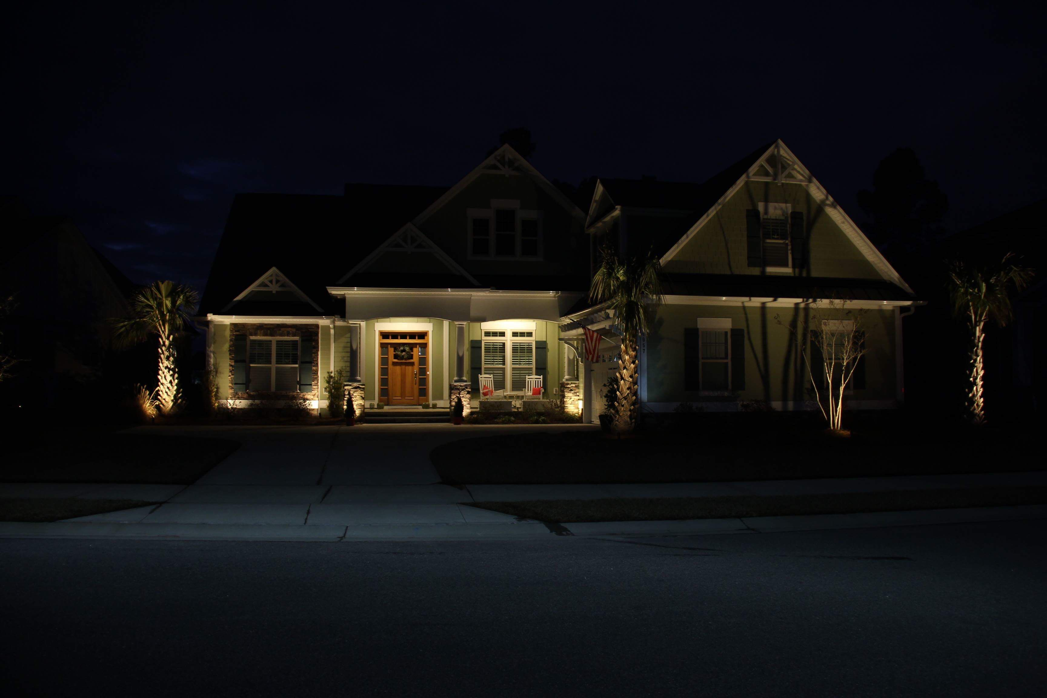 Landscape Lighting Customized To Your Home S Needs Landscape Lighting Porch Sitting Holiday Lights Outdoor