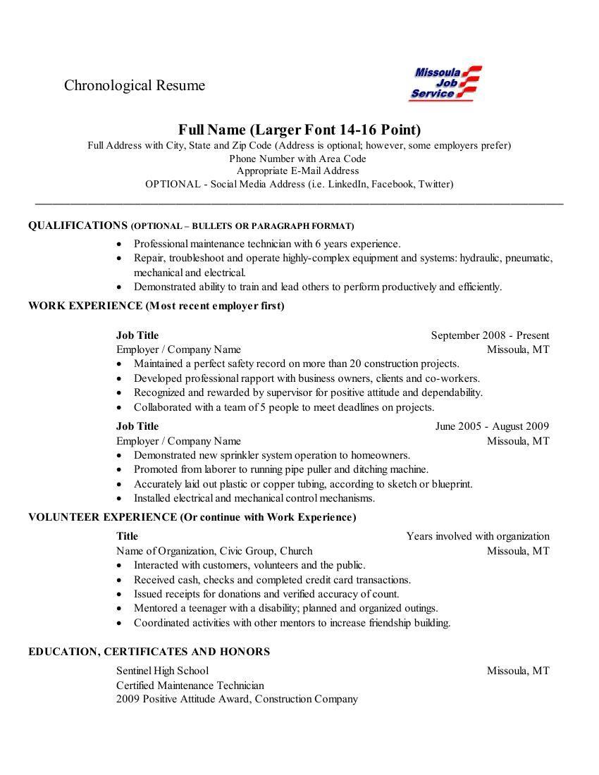 resume margin resume margin 2725