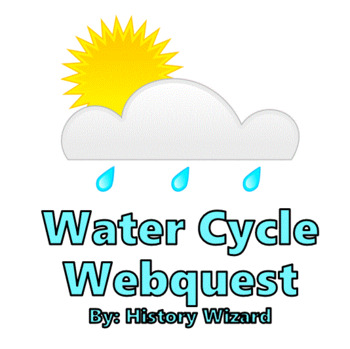 Water Cycle Webquest With Images Webquest History Lesson Plans Water Cycle