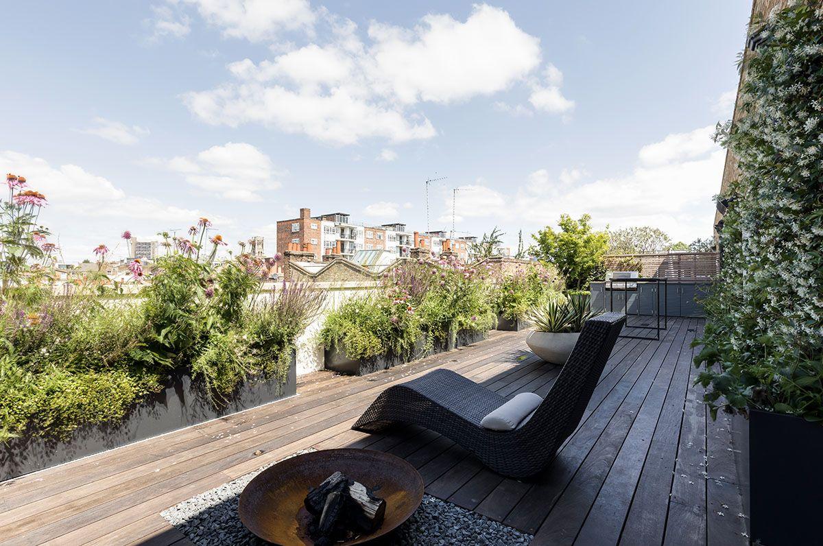 Portobello Roof Terrace – Cameron Landscapes & Gardens