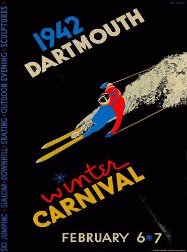 1942-Dartmouth-Hanover-New-Hampshire-Vintage-U-S-Travel-Advertisement-Poster