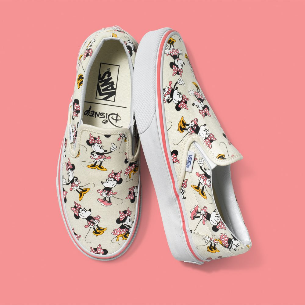 zapatillas vans minnie