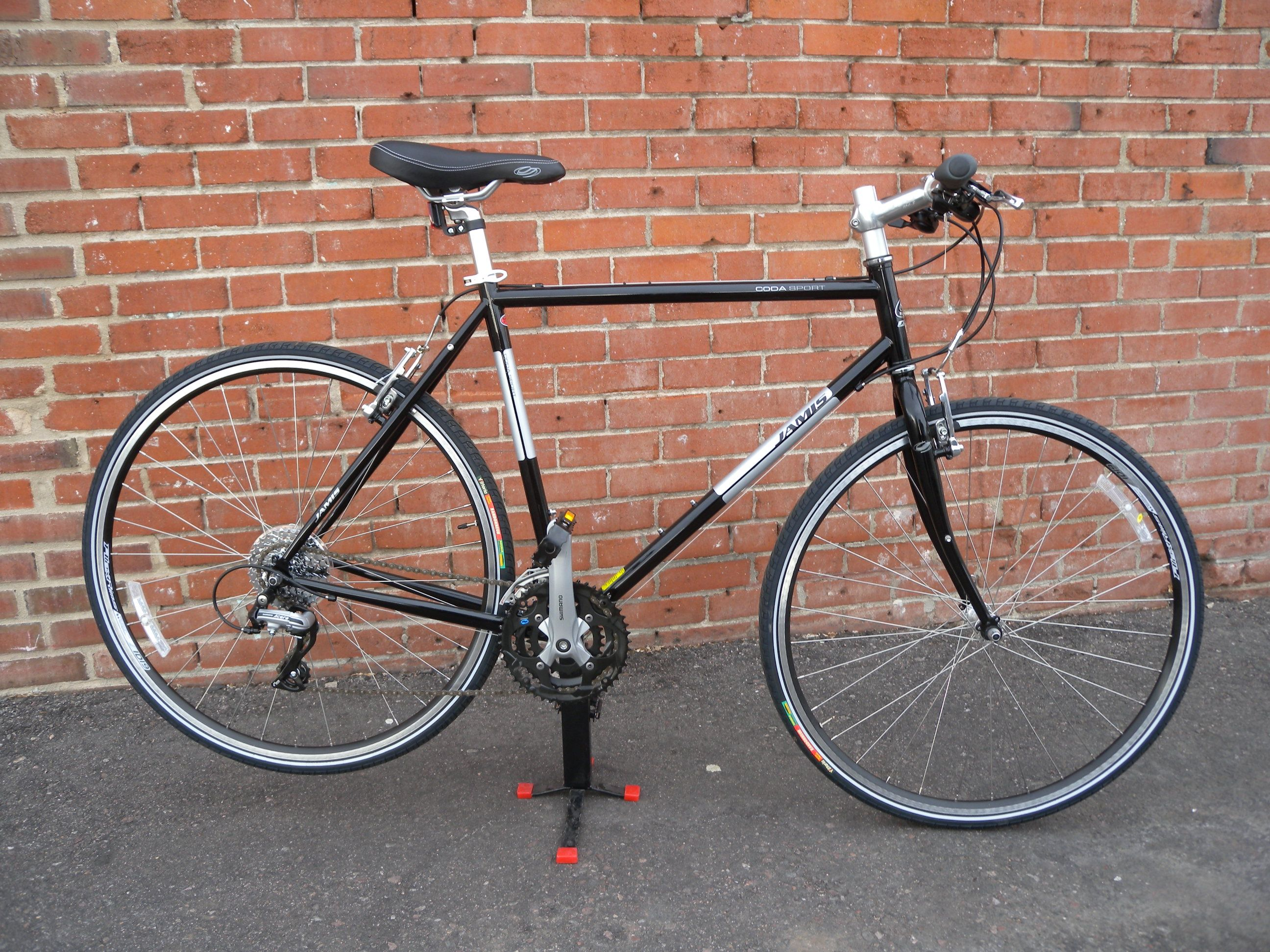 Jamis Coda Sport Nice Hybrid Bike Steel Frame My Bike Hybrid