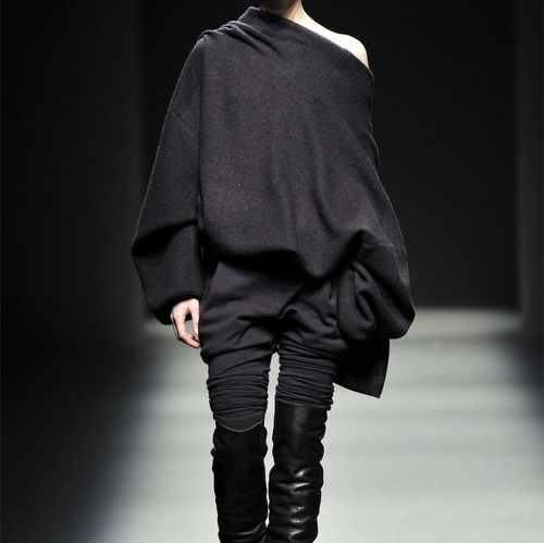 slouchy sweaters Haider Ackermann