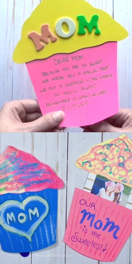 Cupcake Pop-Up Card