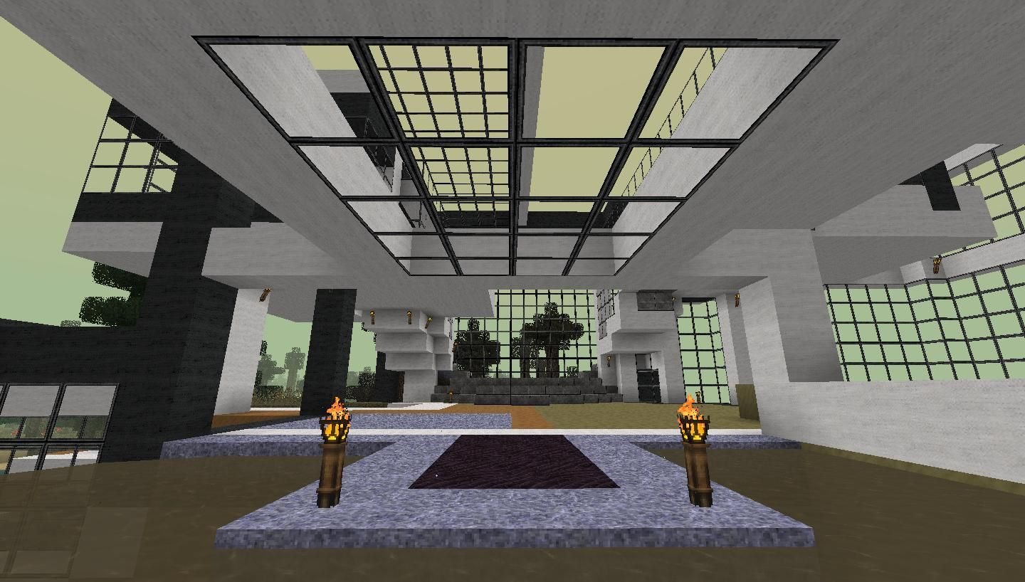 Modern Hotel Foyer : Minecraft modern bedroom you may also like