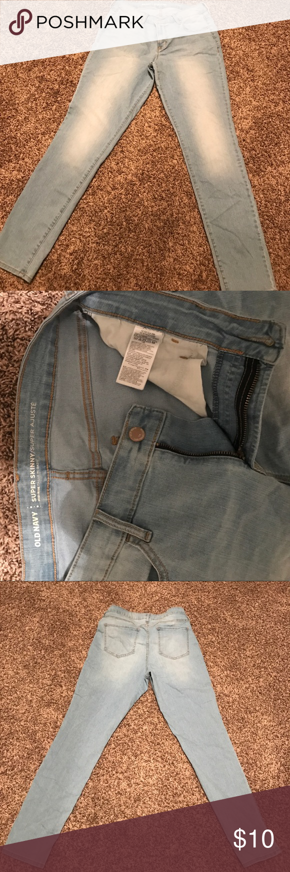 Old Navy Rockstar skinny jeans Size 12 regular Old Navy Jeans Skinny