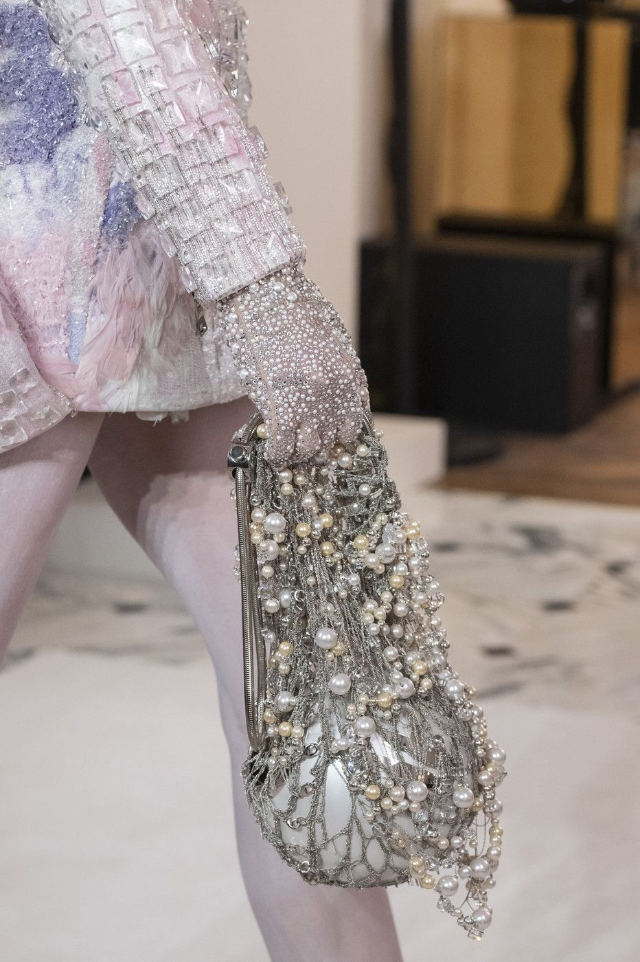 Balmain Paris at Couture Spring 2019 #runwaydetails