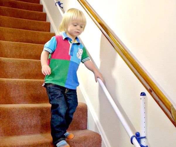 Best A Height Adjustable Hand Rail For Kids With A Rail The 400 x 300
