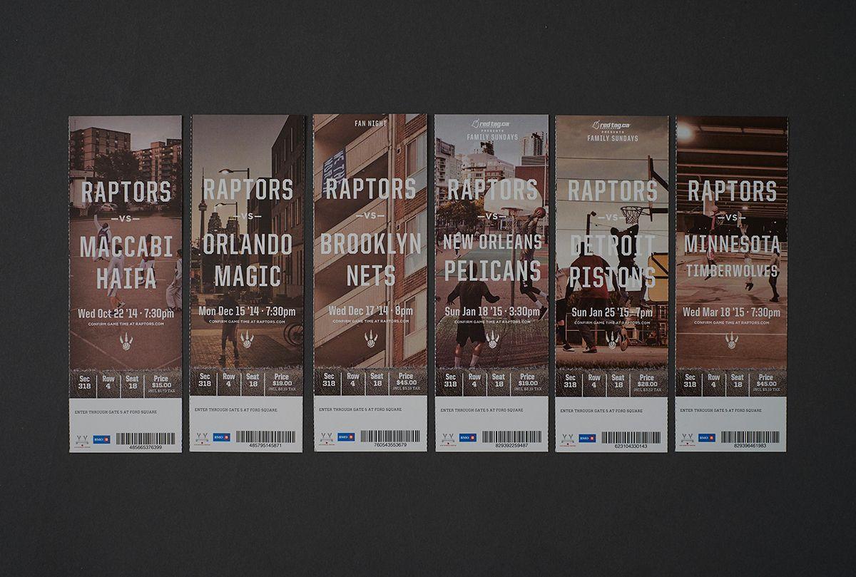 Toronto Raptors Season Tickets 20142015 on Behance