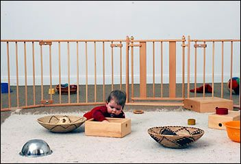vorbereitete umgebung nach emmi pikler montessori kita