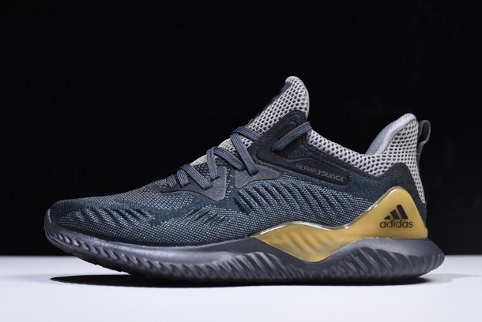 low priced d934e d75c8 2018 Mens adidas AlphaBounce Beyond Grey Carbon-Solid Grey Outlet Sale