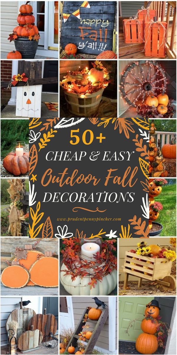 Easy Diy Outdoor Fall Decorations