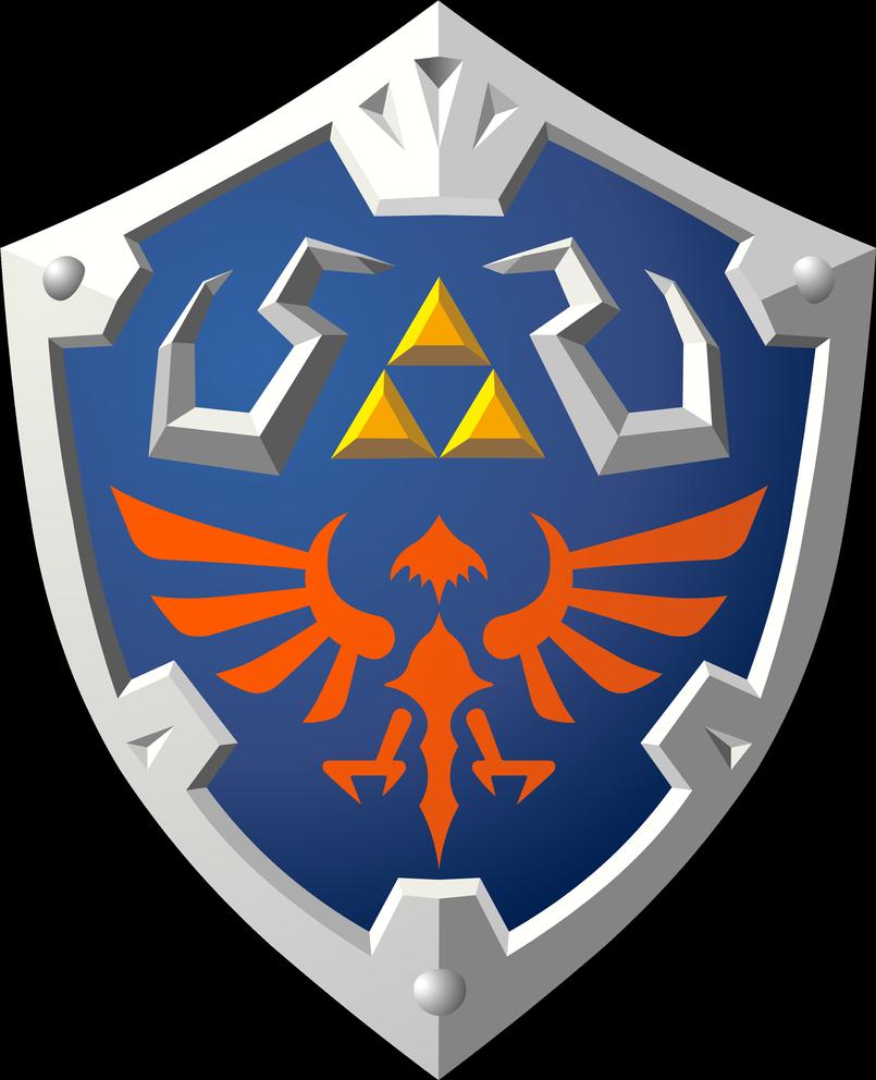 Skyward Hylian Shield By Doctor G On Deviantart Zelda Skyward Legend Of Zelda Legend Of Zelda Tattoos